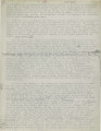Memorandum from the daily journal of John M. Whitaker (1898-1899)