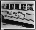 NAACP photographs of voter registration activities and voting rights infringement cases