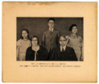 Portait of Elreta Alexander and family