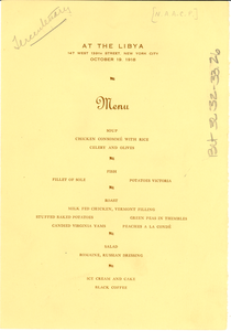 Program for a proposed solemn memorial of the tercentenary of the transplanting of the Negro race in the United States