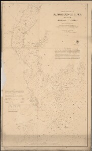 Preliminary chart of Rappahannock River Virginia from entrance to Deep Creek