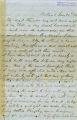 Reverend David E. Blaine, letter to his parents regarding the Yakima War and life in Portland, Oregon Territory and Washington Territory, June 20, 1856