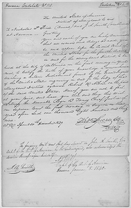Writ Summoning Nicholas P. Trist and J. A. Smith to Testify in the Trial of Robert W. Allen