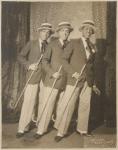 Publicity portrait of unidentified tap dance trio