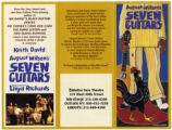 Seven Guitars Brochure, Walter Kerr Theatre, New York.