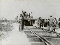 Constructing West Palm Beach to Miami Line