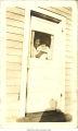 Muggie Adams Rodriguez holding daughter Estefania Joyce, Bettendorf, Iowa, December 1923
