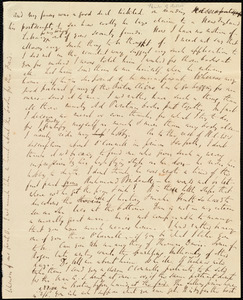 Partial letter from Richard Davis Webb to Maria Weston Chapman, [1842-1844]