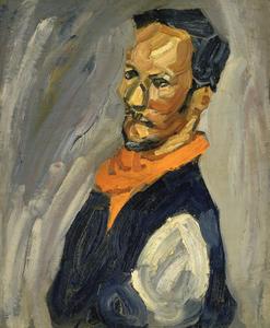 Self-Portrait with Bandana
