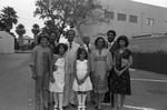 Donald Bohana and family group portrait, Los Angeles, ca. 1978