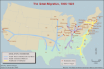 The Great Migration, 1900-1929
