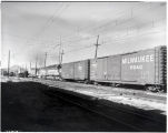 "Milwaukee """"slave units"""" 4005 and 20, Butte Yard"