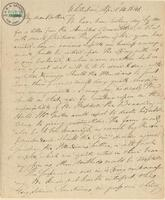 Letter from B. Green to Lewis Tappan