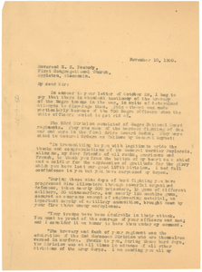 Letter from W. E. B. Du Bois to H.E. Peabody