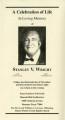 Stanley Van Dorne Wright
