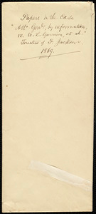 Copy of a letter from Thomas Wentworth Higginson, to Charles Allen, [1869?]
