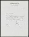 Howard B. Arbuckle Jr. correspondence
