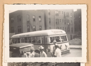 Photograph of a Suburban Lines bus