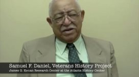 Oral history interview with Samuel F. Daniel