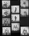 Set of negatives by Clinton Wright of a band (Soul Sounds Unlimited), 1968
