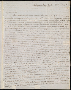 Letter from S. Alfred Steinthal, Bridgewater, [England], to Samuel May, May 21st, 23rd, and 24th [1855]