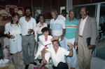 Donald Bohana and others at his birthday party, Los Angeles, 1989