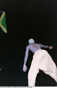 Male dancer performing at Caribbean Dance Ashe Caribbean Dance