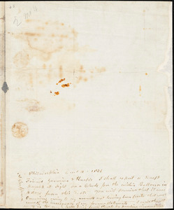 Letter from Arnold Buffum, Philadelphia, [Pennsylvania], to William Lloyd Garrison and Isaac Knapp, 1836 [February] 4