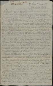 Letter from Louis Alexis Chamerovzow, England, to Mary Anne Estlin, 1854 July 24