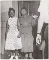 Mae Mallory and her daughter