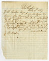 Letter by H. H. Kirrard from Newberry, South Carolina, to Ziba Oakes