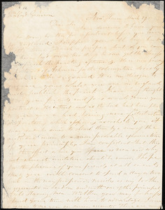 Letter from Simeon Smith Jocelyn, New Haven, [Connecticut], to William Lloyd Garrison, 1833 March 29