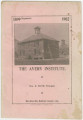 Annual catalogs of the Hawkinsville Rural and Industrial School in Barbour County, Alabama.