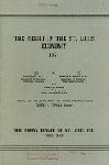 The Negro in the St. Louis Economy, by Irwin Sobel, Werner Z. Hirsch, and Harry C. Harris. Project of the Department of Industrial Relations. Urban League of St. Louis, Inc, Member of the Social Planning Council, Affiliate of the National Urban League, 1954