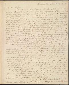 Letter from William Lloyd Garrison, Philadelphia, [Penn.], to Helen Eliza Garrison, March 19, 1835