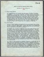 NAACP Report of Executive Secretary, September 6th thru October 3rd, 1961
