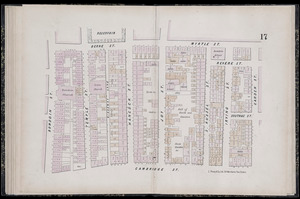 Plan of the city of Boston plate 17
