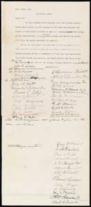 Letter from Ellery Bicknell Crane, Worcester, [Mass.], to Samuel May, May [13?], 1887