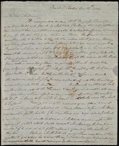 Letter from John Bishop Estlin, Bristol, [England], to Maria Weston Chapman, September 15th, 1849