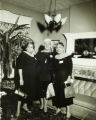 Three women standing for a photograph