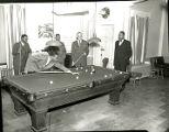 Billiards at the Pyramid Club