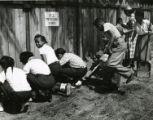 Students aid in neighborhood rehabilitation