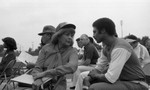 Ethel Bradley at Dodgers Watts Clinic at Will Rogers Park, Los Angeles, 1983