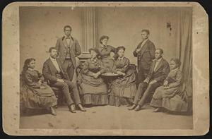 Jubilee singers, Fisk University, Nashville, Tenn.