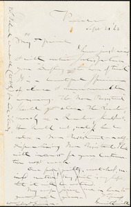 Letter from Gerrit Smith, Peterboro, [New York], to William Lloyd Garrison, [18]62 Sept[ember] 20