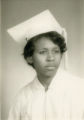 Queen Amos, Riverside Heights High School, Geneva, Alabama, Graduation photo, 1967