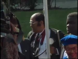 Howard University Special Convocation Honoring President Nelson Mandela (1 of 2)