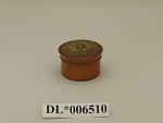 Tooth Powder Box with 1749 Halfpenny