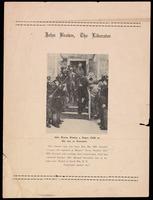 Handbill. John Brown, The Liberator