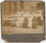 The first convention of the National Association of Colored Graduate Nurses, Boston, 1909
